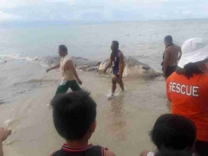 Horror: Everyone is Talking About This Mysterious Creature That Appeared On a Beach in Philippines (Photos)
